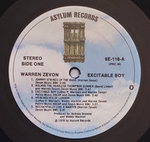 Load image into Gallery viewer, (zevon, warren) | Warren Zevon  [Excitable Boy] US Original