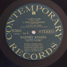Load image into Gallery viewer, (vessel, barney) | Barney Kessel [Let's Cook] US '60s Stereo
