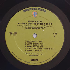 (morrison, van) | Van Morrison [His Band And The Street Choir] US Original