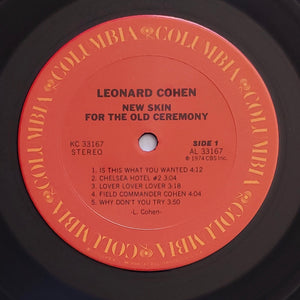 (cohen, leonard) | Leonard Cohen [New Skin For The Old Ceremony] US Original
