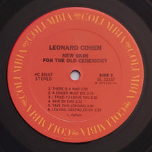 Load image into Gallery viewer, (cohen, leonard) | Leonard Cohen [New Skin For The Old Ceremony] US Original
