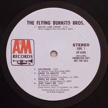 Load image into Gallery viewer, (flying burrito bros) | The Flying Burrito Bros. [The Flying Burrito Bros.] White Label Promo
