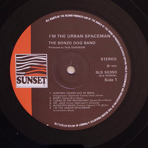 (bonzo dog band) | Bonzo Dog Band [I'm The Urban Spaceman] 1973 UK Press