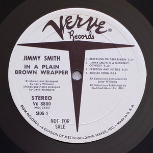 (smith, jimmy) | Jimmy Smith [Jimmy Smith In A Plain Brown Wrapper] White Label Promo