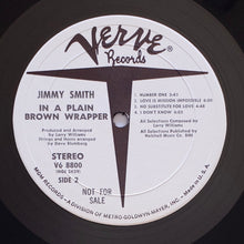 Load image into Gallery viewer, (smith, jimmy) | Jimmy Smith [Jimmy Smith In A Plain Brown Wrapper] White Label Promo