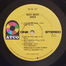Load image into Gallery viewer, (roxy music) | Roxy Music [Siren] US Presswell Original