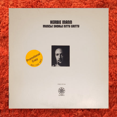 (mann, herbie) | Herbie Mann [Muscle Shoals Nitty Gritty] White Label Promo