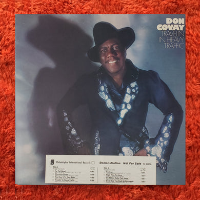 (covay, don) | Don Covay [Travelin' In Heavy Traffic] White Label Promo