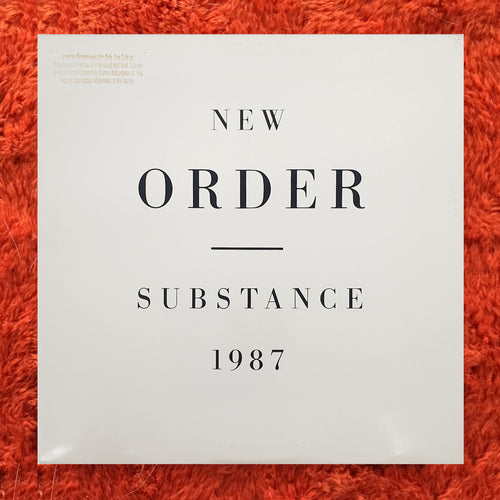 (new order) | New Order [Substance] US Promo Original