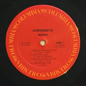 (aerosmith) | Aerosmith [Rocks] US Promo Original