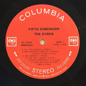 (byrds) | The Byrds [Fifth Dimension] US Original