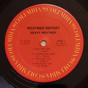 (weather report) | Weather Report [Heavy Weather] US Promo Original
