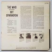 Load image into Gallery viewer, (who) | The Who [The Who Sings My Generation] US Mono Original