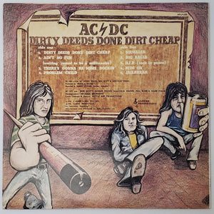 (acdc) | AC/DC [Dirty Deeds Done Dirt Cheap] 1977 Australian Pressing