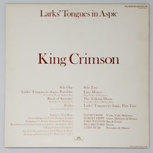 Load image into Gallery viewer, (king crimson) | King Crimson [Larks Tongue In Aspic] 1977 UK Poydor