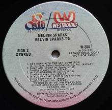 Load image into Gallery viewer, (sparks, melvin) | Melvin Sparks ['75] US Promo Original