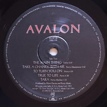 Load image into Gallery viewer, (roxy music) | Roxy Music [Avalon] UK Original