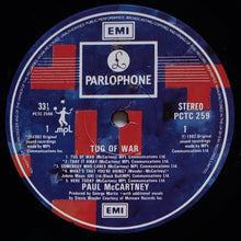 Load image into Gallery viewer, (mccartney, paul) | Paul McCartney [Tug Of War] UK Original