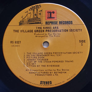 (kinks) | The Kinks [Village Green Preservation Society] 2nd US Pressing