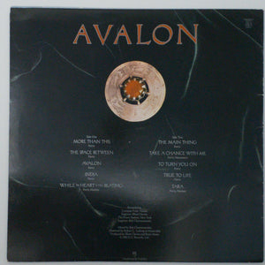 (roxy music) | Roxy Music [Avalon] UK Original