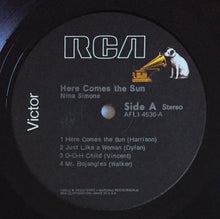 Load image into Gallery viewer, (simone, nina) | Nina Simone [Here Comes The Sun] RCA Black Label