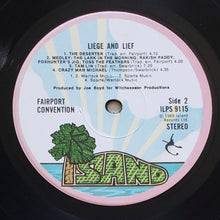 Load image into Gallery viewer, (fairport convention) | Fairport Convention [Liege & Lief] 1970 UK Pink Rim