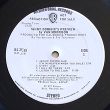 Load image into Gallery viewer, (morrison, van) | Van Morrison [St. Dominic's Preview] White Label Promo