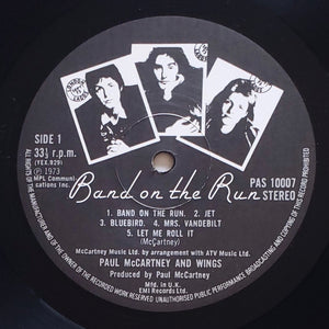 (mccartney, paul) | Paul McCartney & Wings [Band On The Run] UK Original