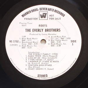 (everly brothers) | The Everly Brothers [Roots] White Label Promo