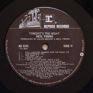 (young, neil) | Neil Young [Tonight's The Night] US Original