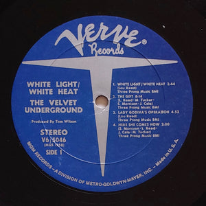 (velvet underground) | Velvet Underground [White Light/White Heat] US '60s Press