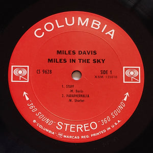 (davis, miles) | Miles Davis [Miles In The Sky] US Original