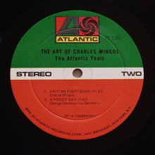 Load image into Gallery viewer, (mingus, charles) | Charles Mingus [The Art Of Charles Mingus - The Atlantic Years] US Monarch Promo