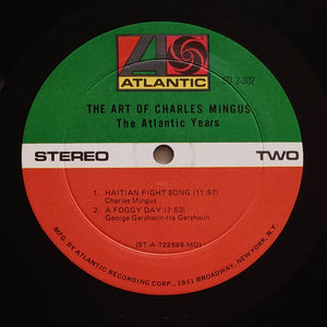 (mingus, charles) | Charles Mingus [The Art Of Charles Mingus - The Atlantic Years] US Monarch Promo