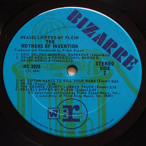 (mothers of invention) | The Mothers Of Invention [Weasels Ripped My Flesh] US Original