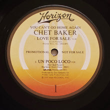 Load image into Gallery viewer, (baker, chet) | Chet Baker [You Can't Go Home Again] US Promo Original