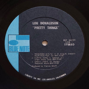 (donaldson, lou) | Lou Donaldson [Pretty Things] 1970 US Pressing