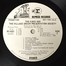 Load image into Gallery viewer, (kinks) | The Kinks [Village Green Preservation Society] White Label Promo