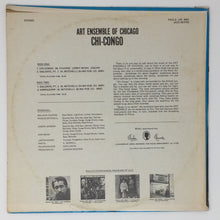 Load image into Gallery viewer, (art ensemble) | Art Ensemble Of Chicago [Chi-Congo] US Original