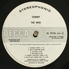 Load image into Gallery viewer, (who) | The Who [Tommy] White Label Promo