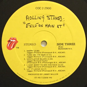 (rolling stones) | The Rolling Stones [Exile On Main Street] US Promo Original