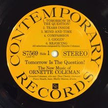 Load image into Gallery viewer, (coleman, ornette) | Ornette Coleman [Tomorrow Is The Question] '70s Stereo Press