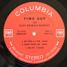 Load image into Gallery viewer, (brubeck, dave) | The Dave Brubeck Quartet [Time Out] '60s Stereo Press