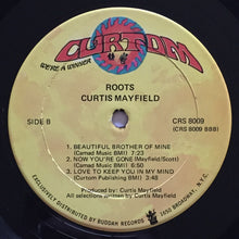 Load image into Gallery viewer, (mayfield, curtis) | Curtis Mayfield [Roots] US Original