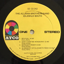 Load image into Gallery viewer, (allman brothers) | The Allman Brothers Band [Idlewild South] US Monarch Original