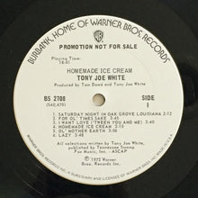 Load image into Gallery viewer, (white, tony joe) | Tony Joe White [Homemade Ice Cream] White Label Promo
