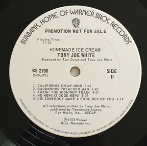 (white, tony joe) | Tony Joe White [Homemade Ice Cream] White Label Promo