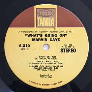 (gaye, marvin) | Marvin Gaye [What's Going On] US Original