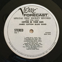Load image into Gallery viewer, (cotton, james) | James Cotton Blues Band [Cotton In Your Ears] White Label Promo