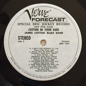 (cotton, james) | James Cotton Blues Band [Cotton In Your Ears] White Label Promo